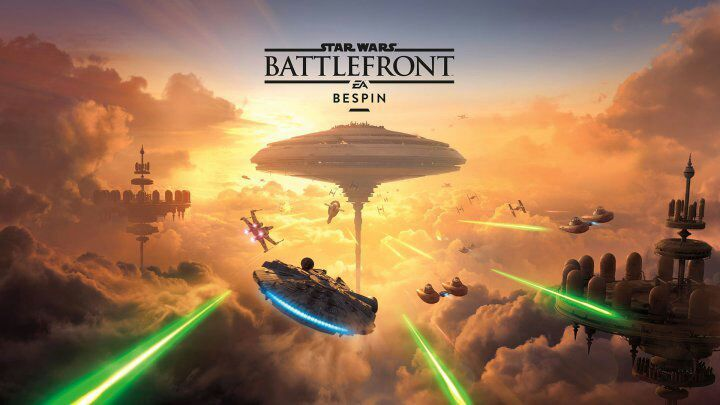 Star Wars Battlefront : DLC bespin