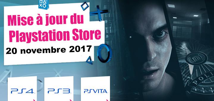 Playstation Store mise à jour