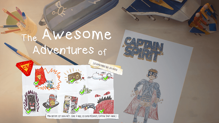 The Awsome Adventures of Captain Spirit