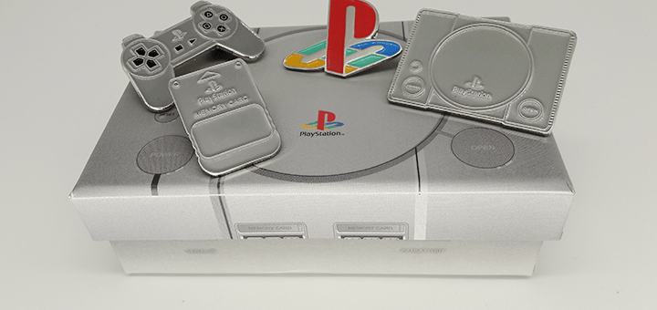Pin's Playstation 1