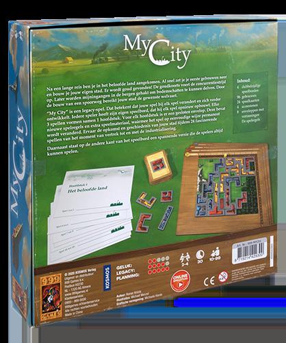 My City legacy achterkant doos