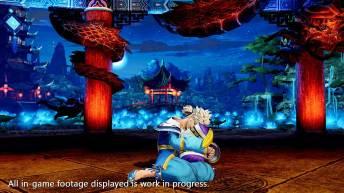 The King of Fighters XV Meitenkun sentado