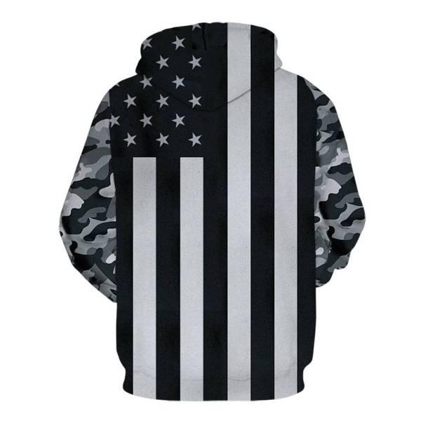 gamer-protocol-Black ops hoodie - Back