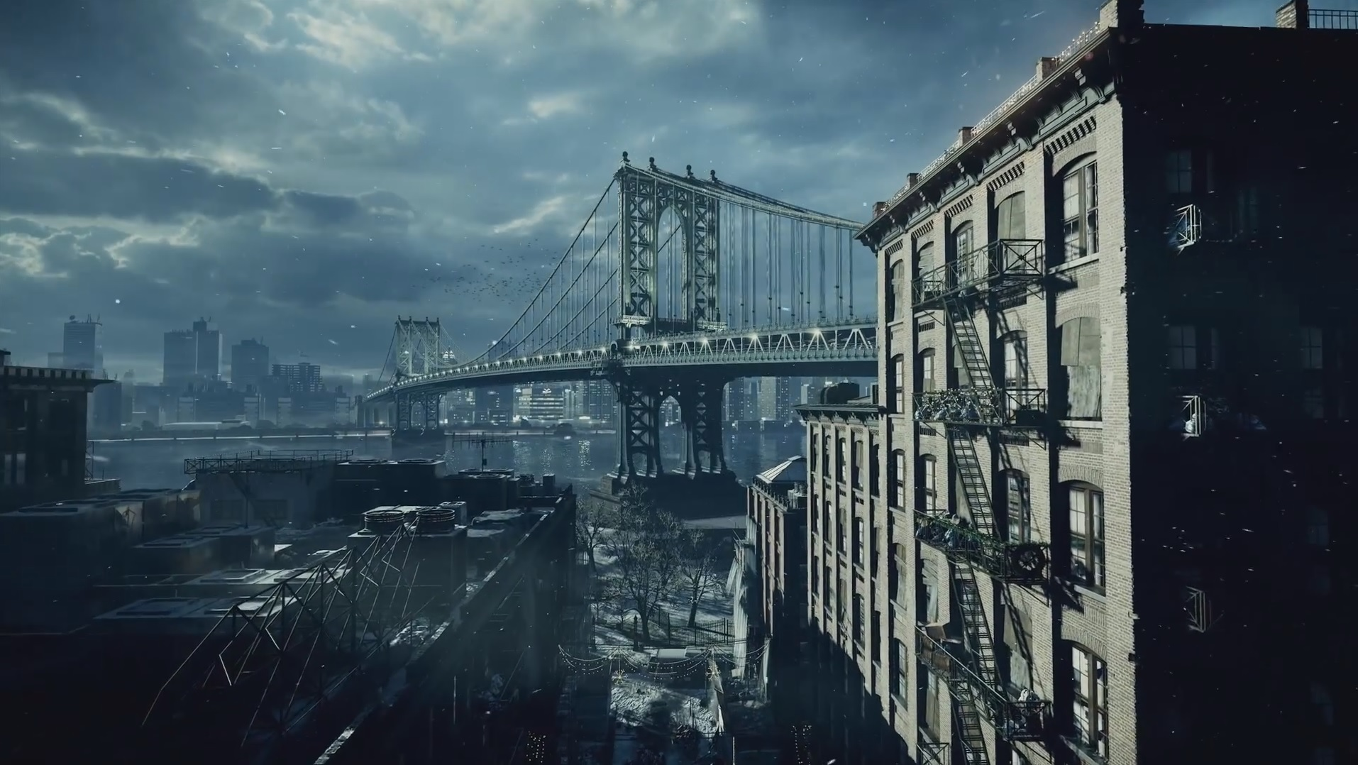 The Division New Video Shows Off Impressive Snowdrop Engine Gt GamersBook