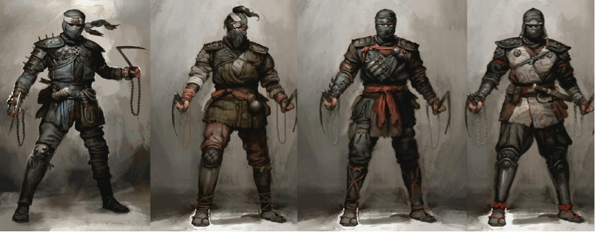 For Honor Announces Ninja And Roman Centurions Gamers Decide