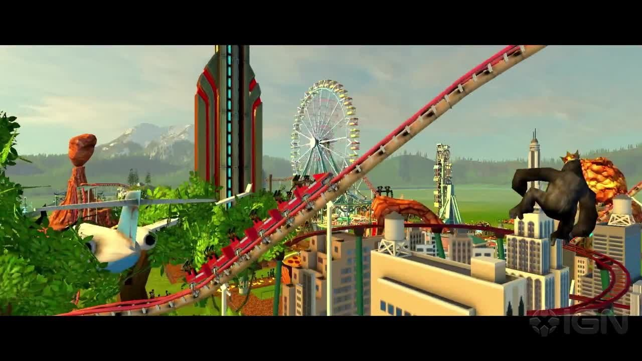Roller Coaster Tycoon World Gameplay 10 Interesting Facts