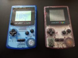 GB Boy Colour et GameBoy Color