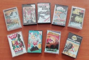 9 jeux MasterTronic en K7