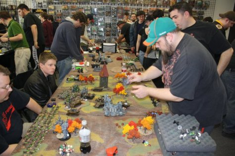 Playing in a public space full of noise with complete strangers is impersonal enough, but doing so with people who want to beat you at all cost reduces the experience to a point where you have to wonder why anyone bothers. Finding a good tournament scene for any miniature game is not easy.