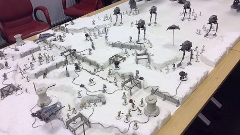 Metaphorically speaking, don't try to re-create a 5,000 point battle of Hoth on your first game. By the time your done prepping the game will be in its next edition. Start small and work your way up to magical moments like this. When your experienced, you will enjoy them a lot more.