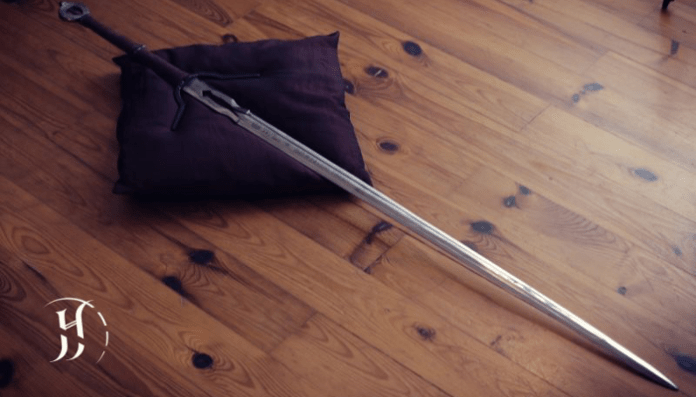 Witcher 3 Ciri's sword replica