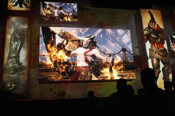 God of War announce at E3