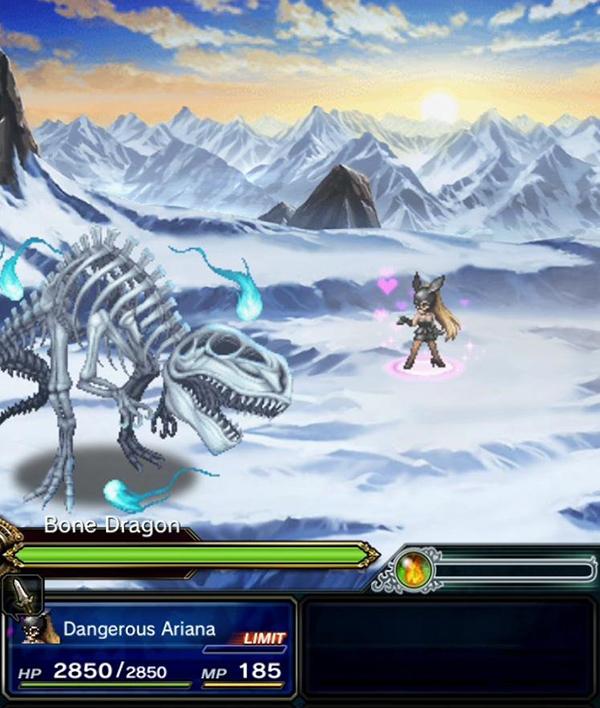 Ariana Grande fights bone dragon