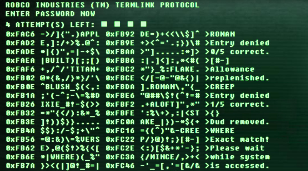 Fallout Terminal