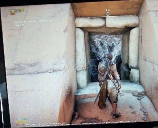 Assassin's Creed Origins Egypt tomb screenshot leak