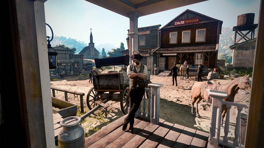 Leaked Wild West Online image thought to be Red Dead Redemption 2