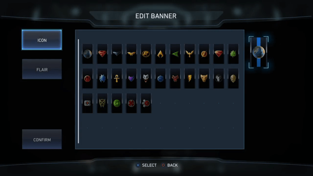Injustice 2 Guild Banners Icons