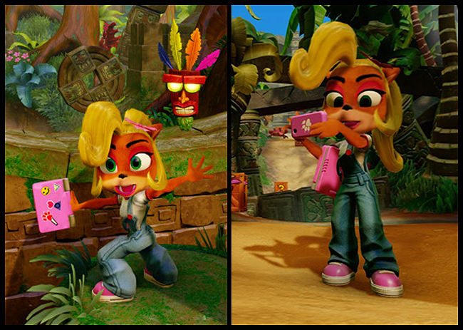 Crash Bandicoot N. Sane Trilogy Coco Naughty Dog Phone Laptop references
