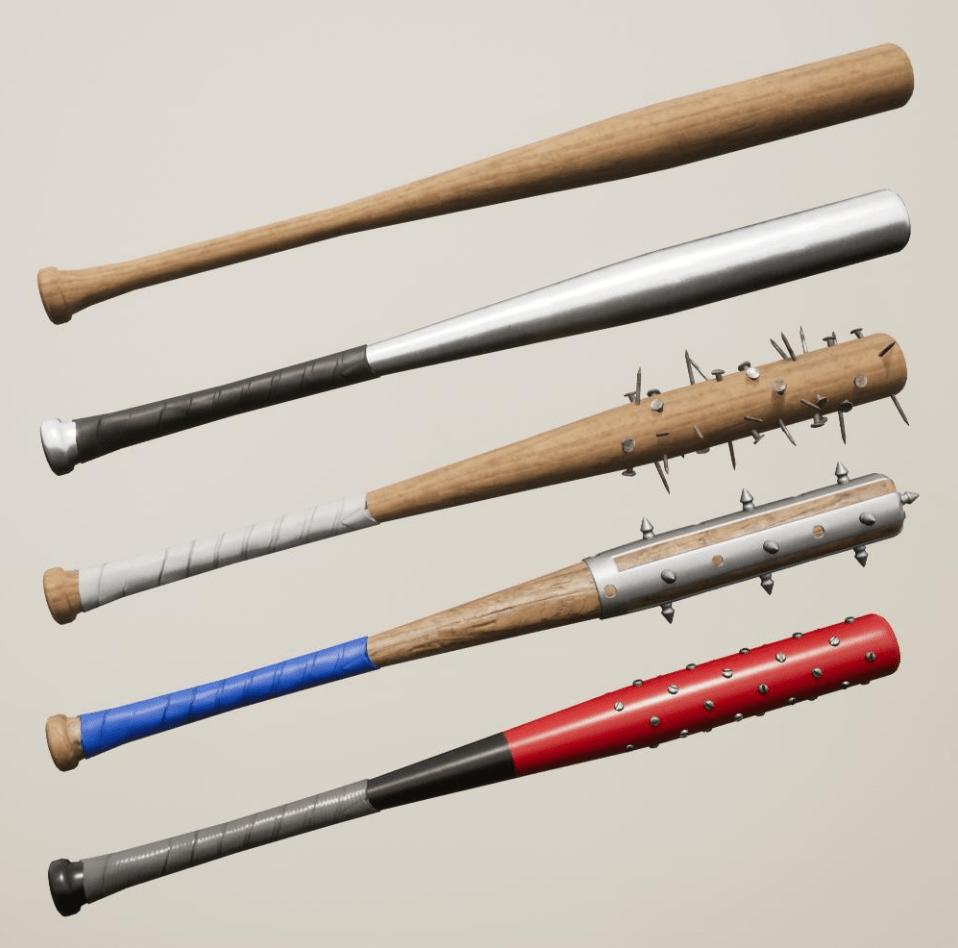 Dead Matter baseball bats screenshot