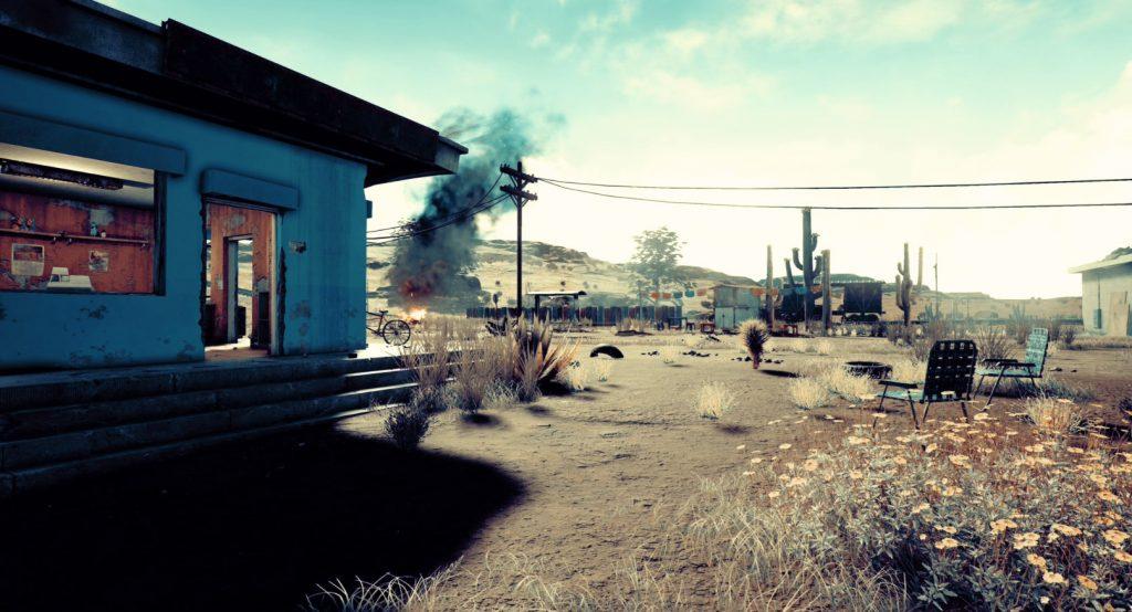 PlayerUnknown Battlegrounds map desert