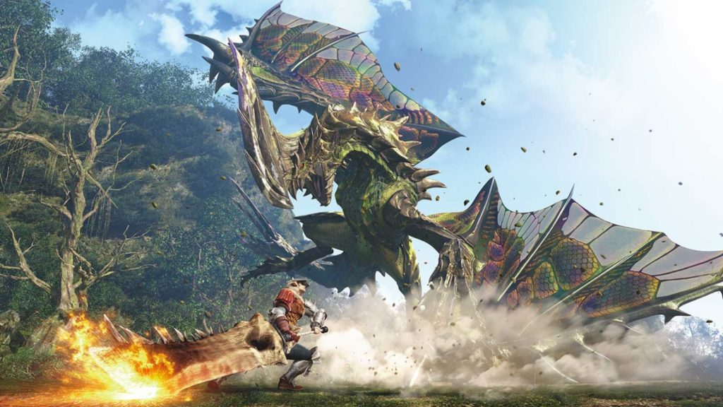 Monster Hunter World gameplay screenshot