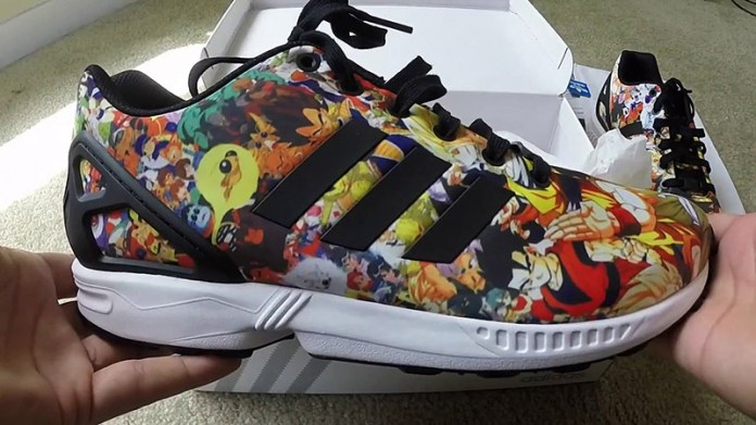 Dragon Ball Z x Adidas Collaboration sneakers Frieza and Cell