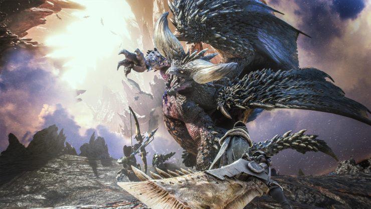 Monster Hunter World PC Release date fight