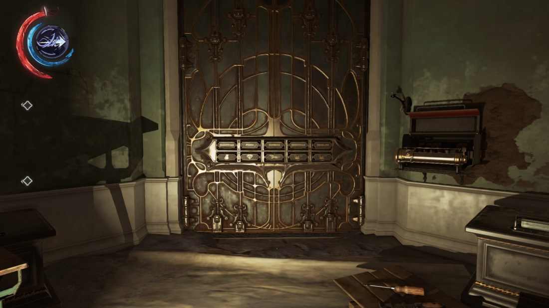 Solving the Jindosh Riddle lock Dishonored 2