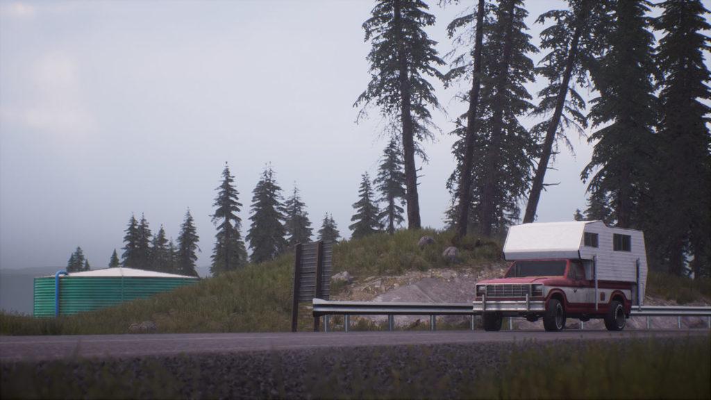 Dead Matter landscape driving screenshot truck