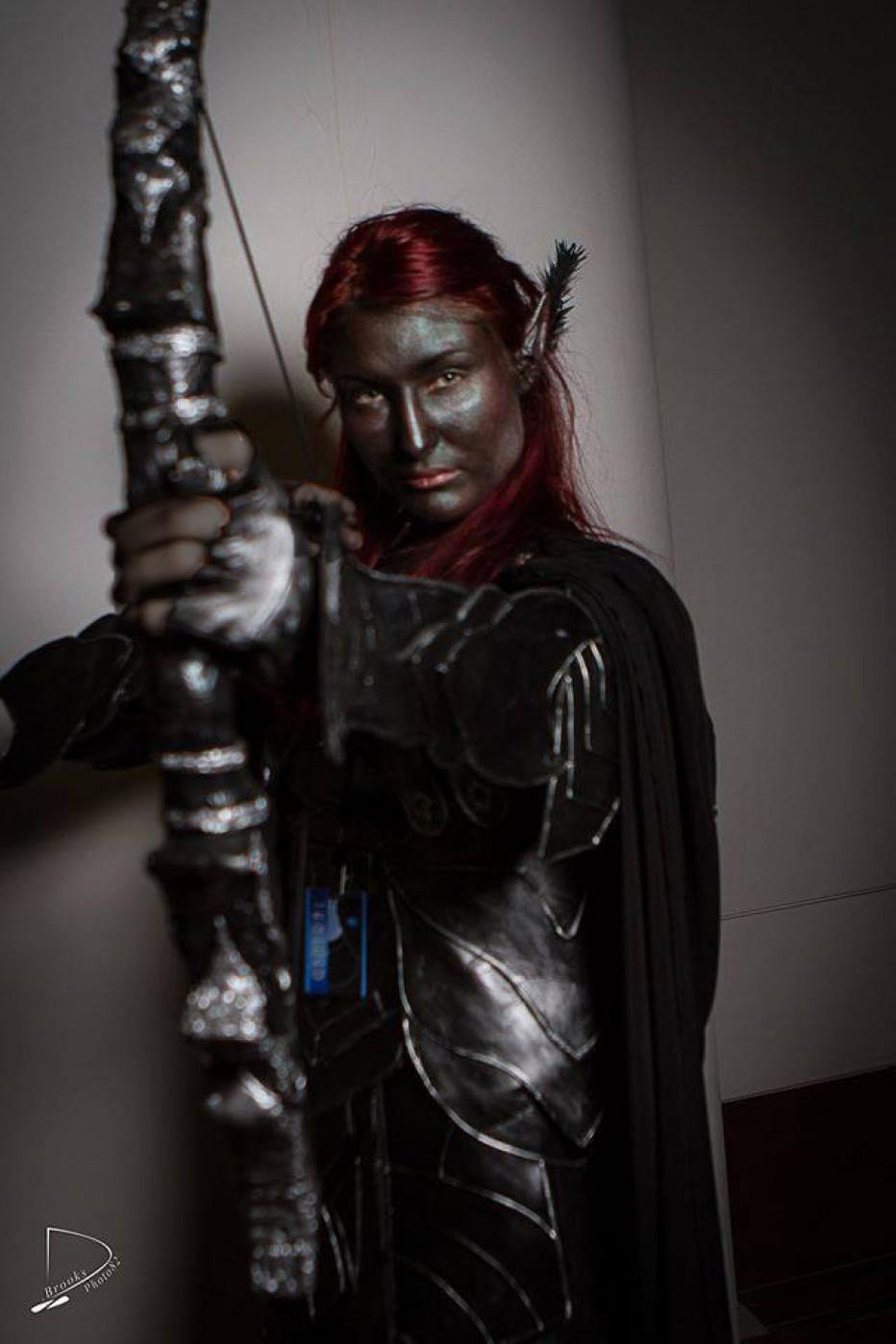 Cosplay Wednesday Skyrims Nightingale Armor GamersHeroes