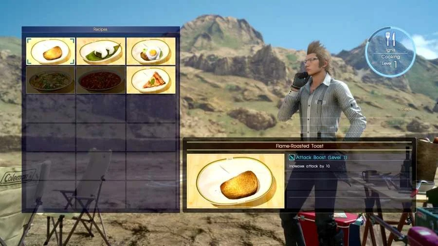 Image result for ff15 ignis cooking
