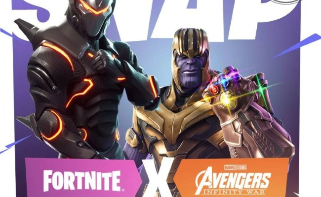 Thanos Coming To Fortnite Gamersheroes