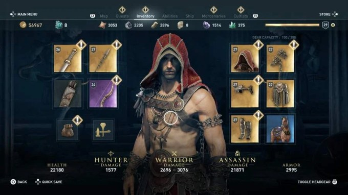 Assassin S Creed Odyssey Armor Set Location Guide