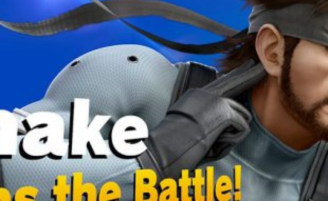How To Unlock Snake In Super Smash Bros Ultimate