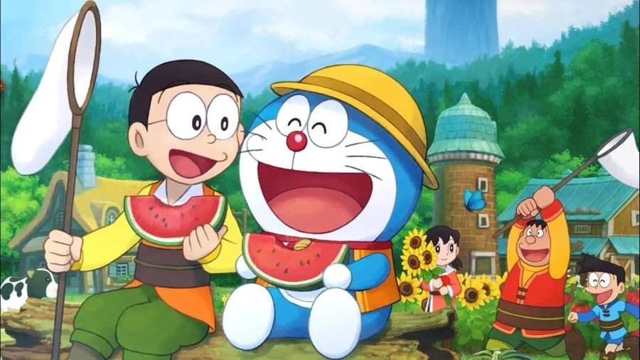 Fall Cartoon Wallpaper Doraemon Story Of Seasons Announced Gamersheroes