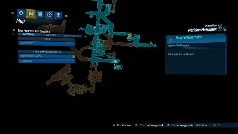 Meridian Metroplex Target Of Opportunity 900x506 - Borderlands 3 - Meridian Metroplex, guida alle sfide