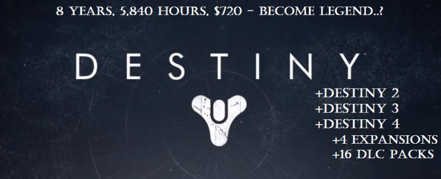 The cost of keeping up with Destiny