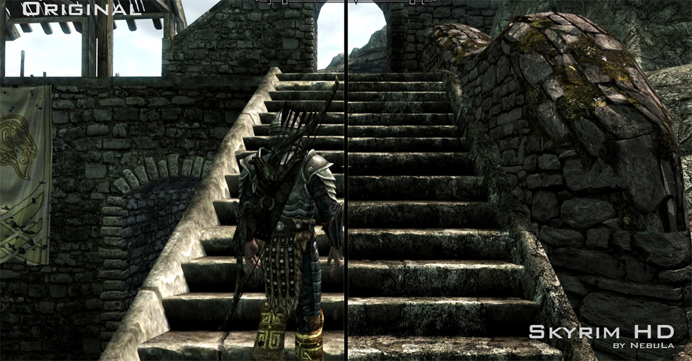 skyrim high resolution texture pack download
