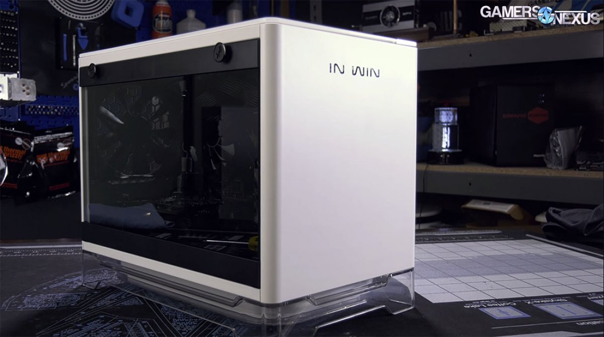 In Win A1 MiniITX Case Review If Ikea Made Cases