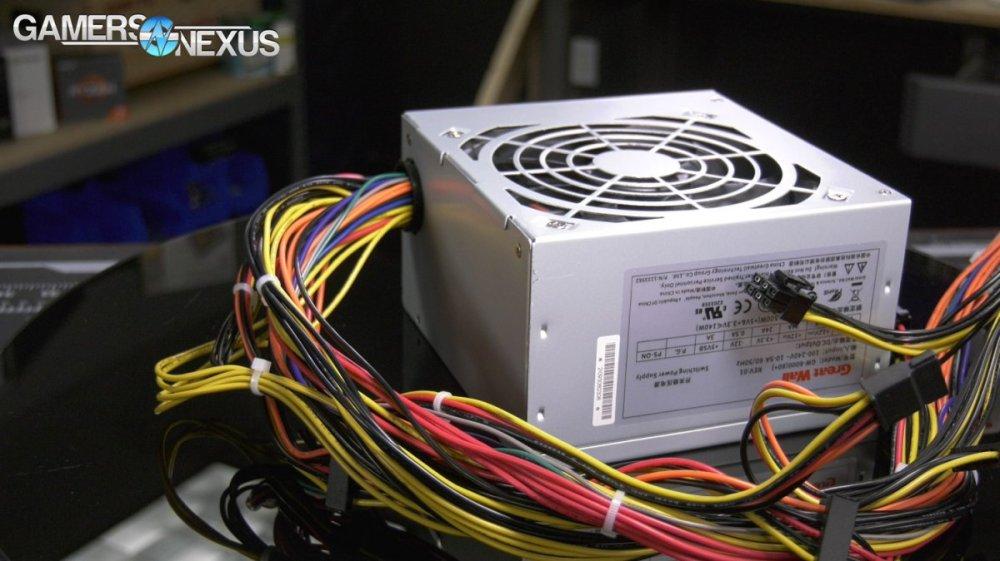 medium resolution of walmart great wall power supply test overpowered dtw psu