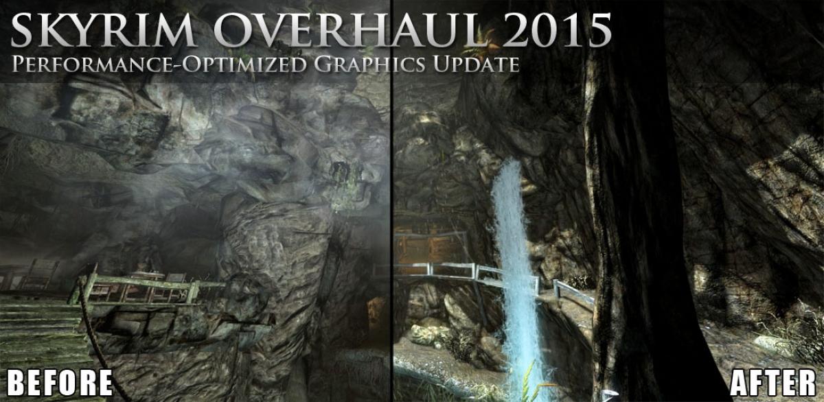 skyrim graphics overhaul 2015