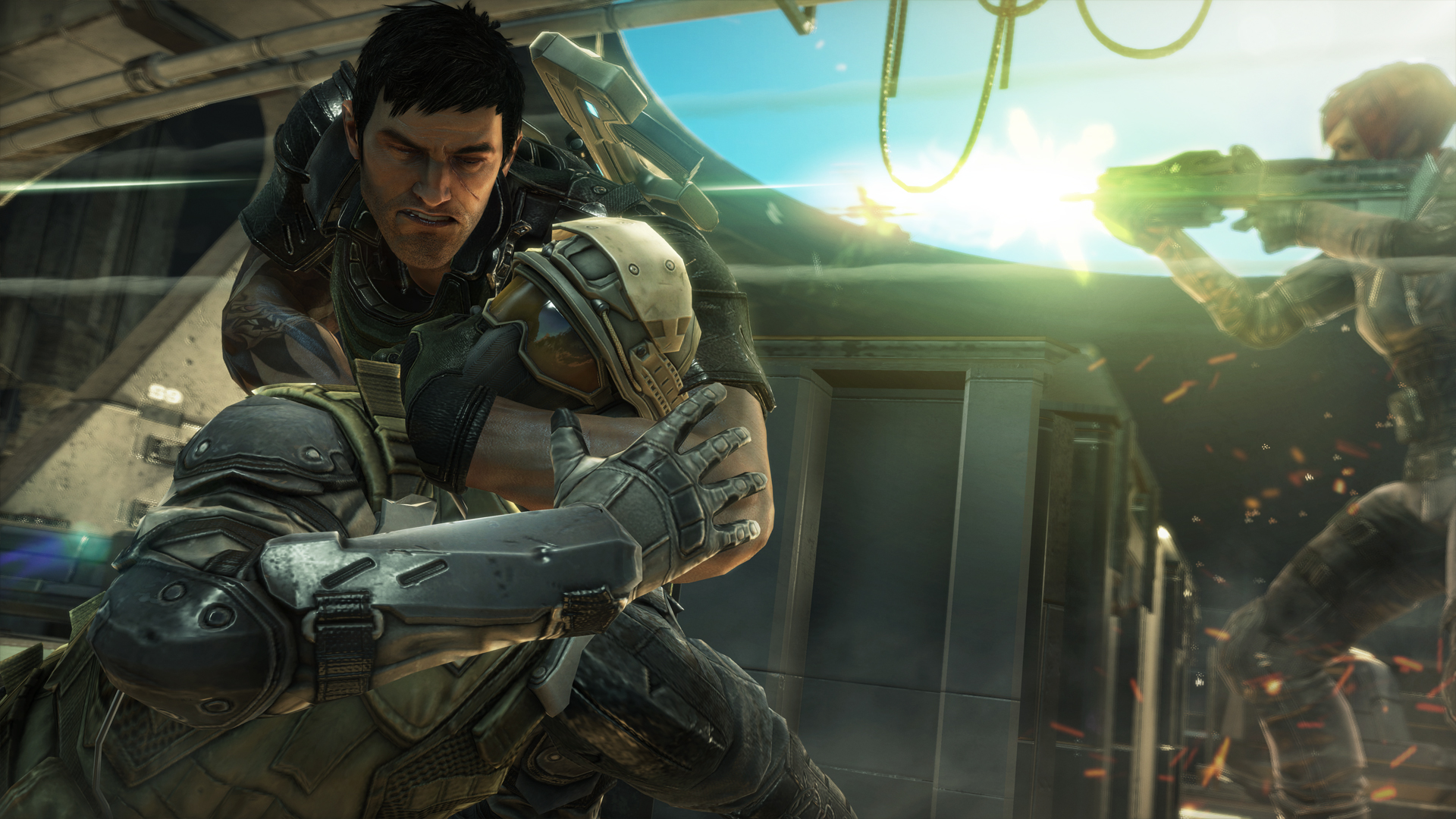 hight resolution of  the game in action for in an 18 minute long video but these screenshots are just as good fuse is set to release on march 2013 on the xbox 360 and ps3