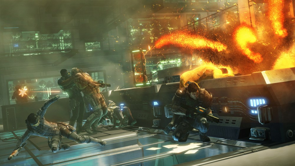 medium resolution of  the game in action for in an 18 minute long video but these screenshots are just as good fuse is set to release on march 2013 on the xbox 360 and ps3