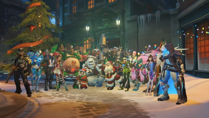overwatch christmas event is live see all the skins