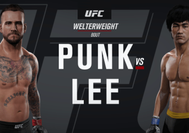 CM-Punk-Vs-Bruce-Lee-UFC-Celebrity-Fight–EA-UFC-2-gamersrd.com