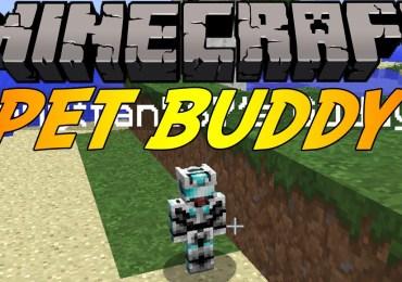 Pet Buddy Mod para Minecraft-GamersRD