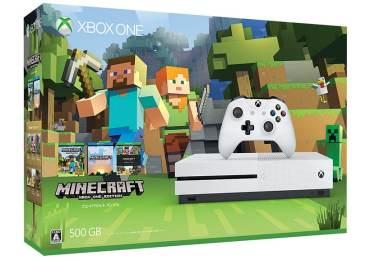Microsoft impulsa Xbox One en Japón con Minecraft Xbox One S Bundle-GamersRD