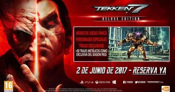 Tekken 7 saldrá a la venta este 2 de junio GamersRD