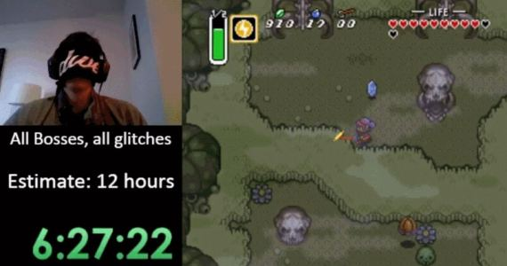 Un gamer termina Zelda A Link To The Past con los ojos vendados-GamersRD
