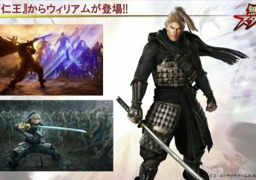 William de NiOh personaje jugable en Musou Stars